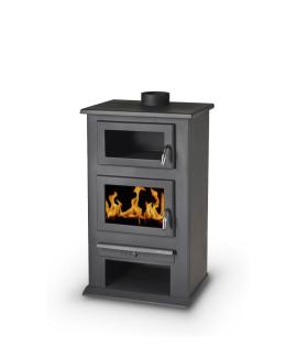 Wood Stove with wood oven